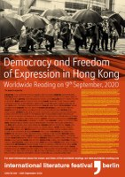 Call for a Worldwide Reading for the Democracy Movement in Hong Kong on 9 September 2020